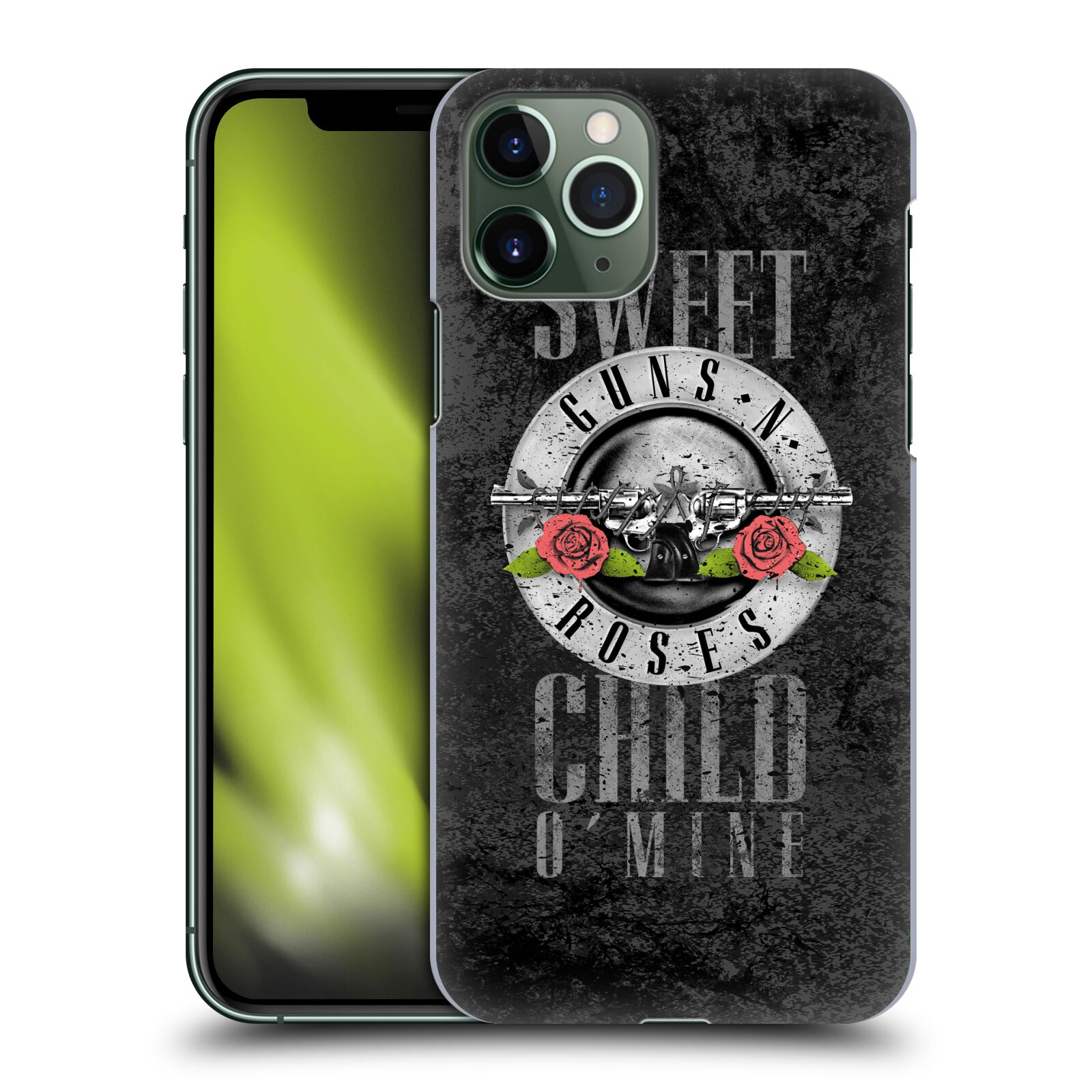 Plastové pouzdro na mobil Apple iPhone 11 Pro - Head Case - Guns N' Roses - Sweet Child