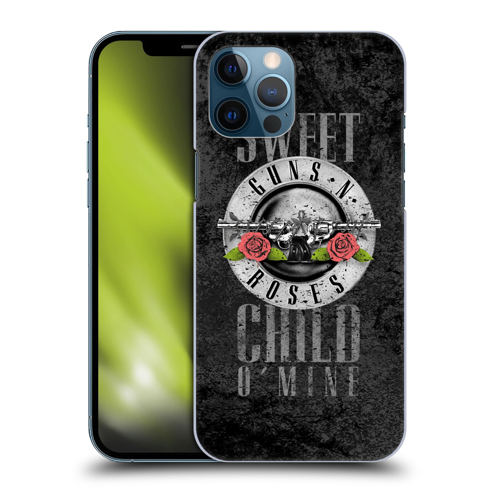 Plastové pouzdro na mobil Apple iPhone 12 Pro Max - Head Case - Guns N' Roses - Sweet Child