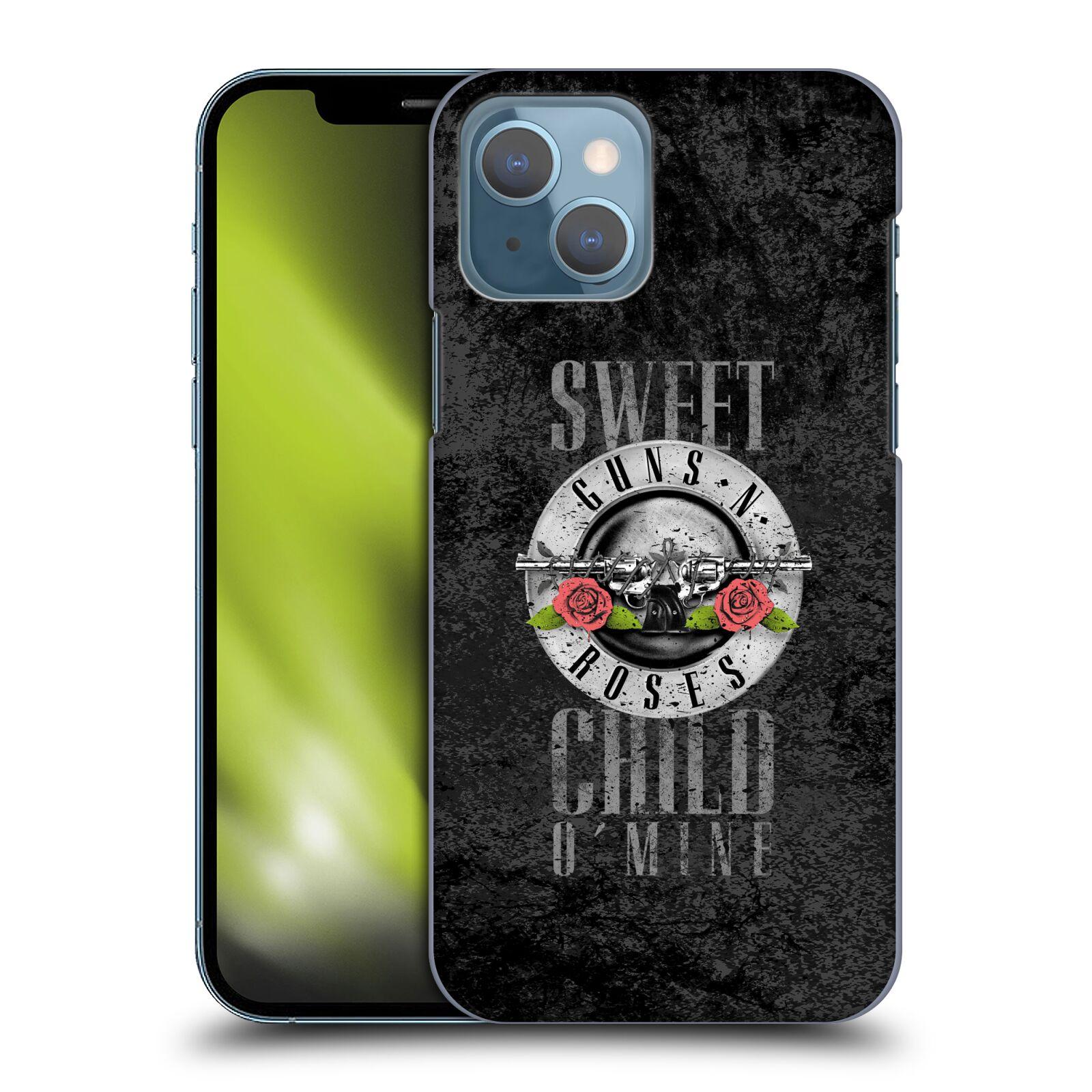 Plastové pouzdro na mobil Apple iPhone 13 - Head Case - Guns N' Roses - Sweet Child