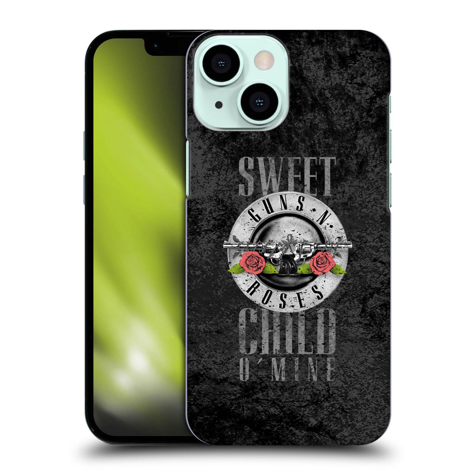 Plastové pouzdro na mobil Apple iPhone 13 Mini - Head Case - Guns N' Roses - Sweet Child