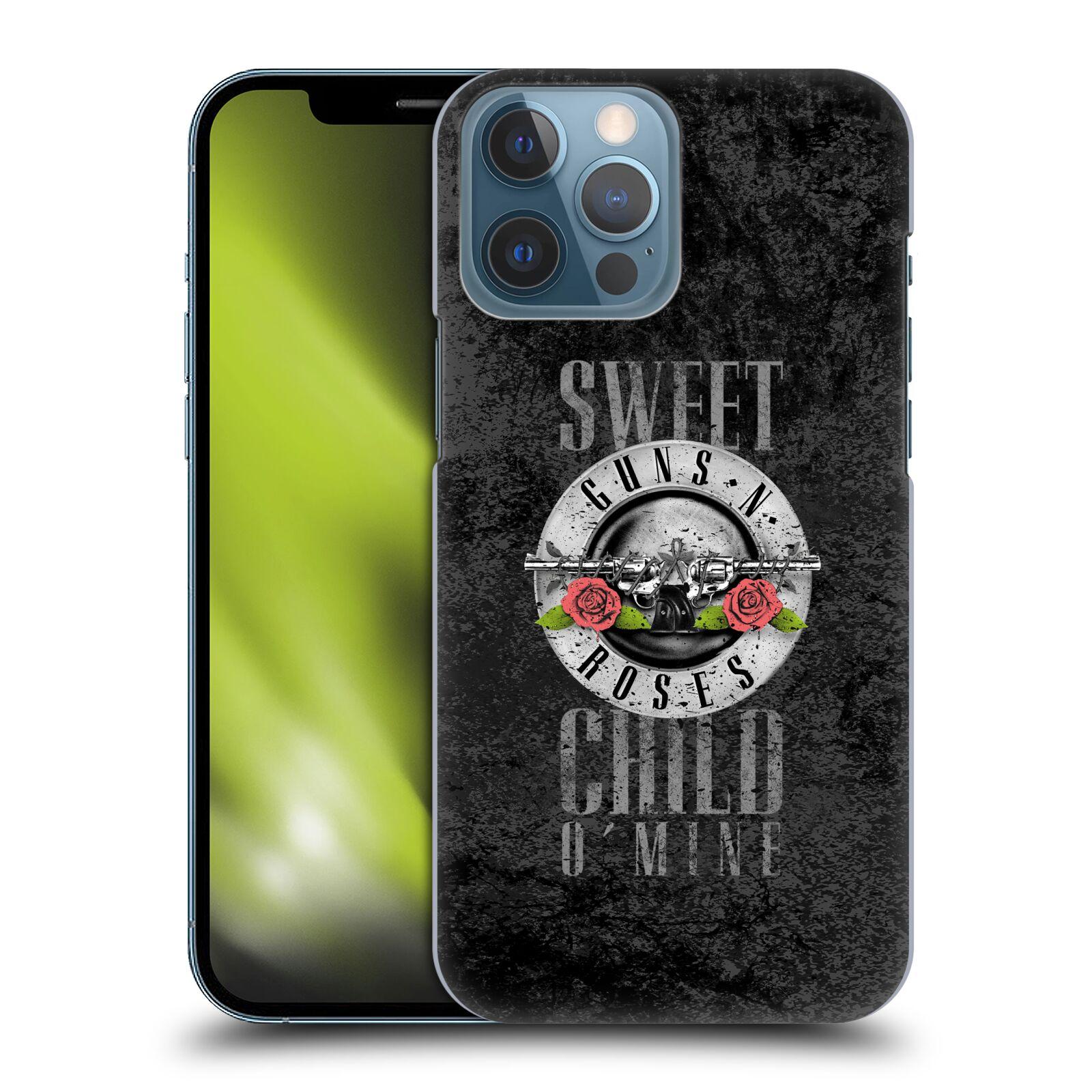 Plastové pouzdro na mobil Apple iPhone 13 Pro Max - Head Case - Guns N' Roses - Sweet Child