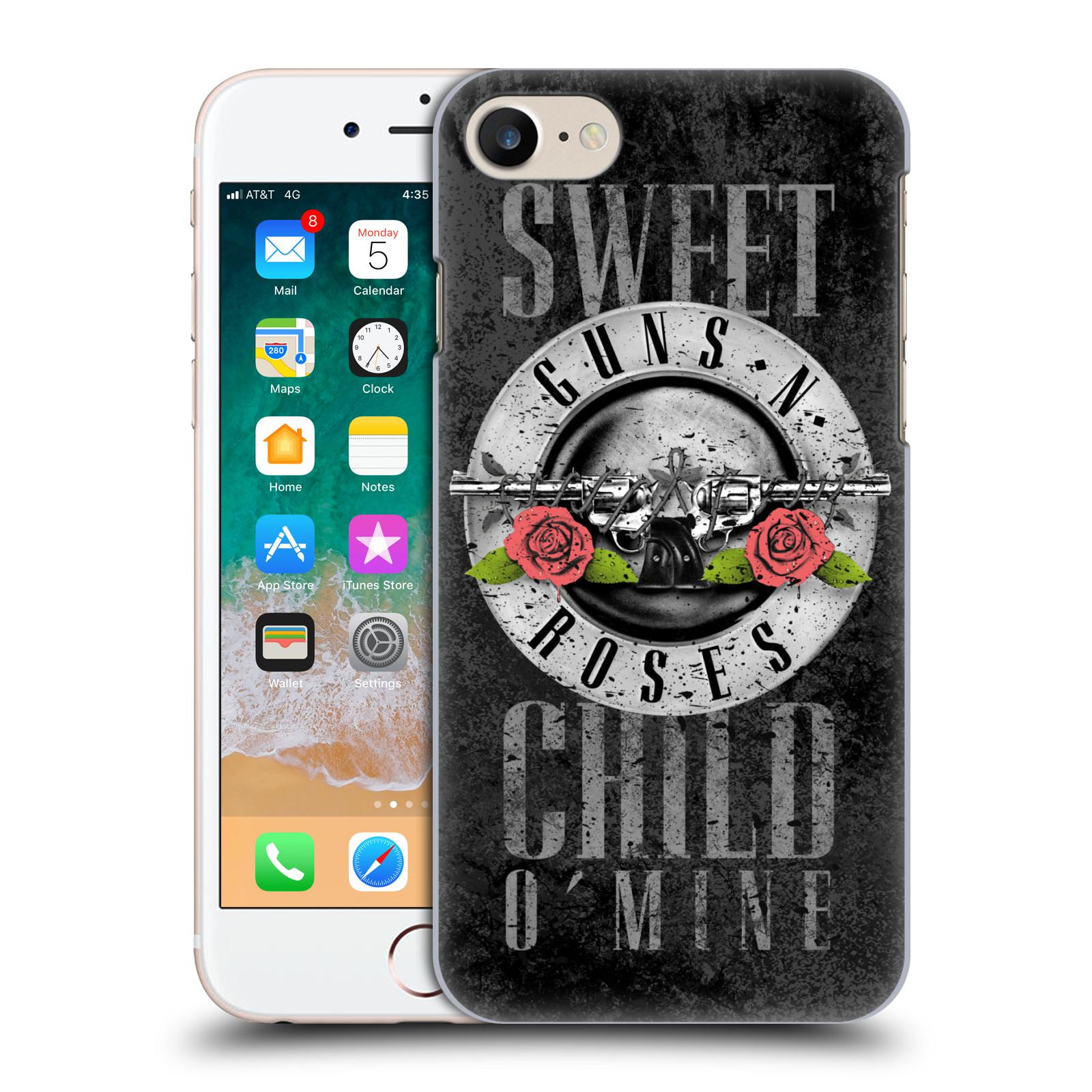 Plastové pouzdro na mobil Apple iPhone SE (2020) - Head Case - Guns N' Roses - Sweet Child