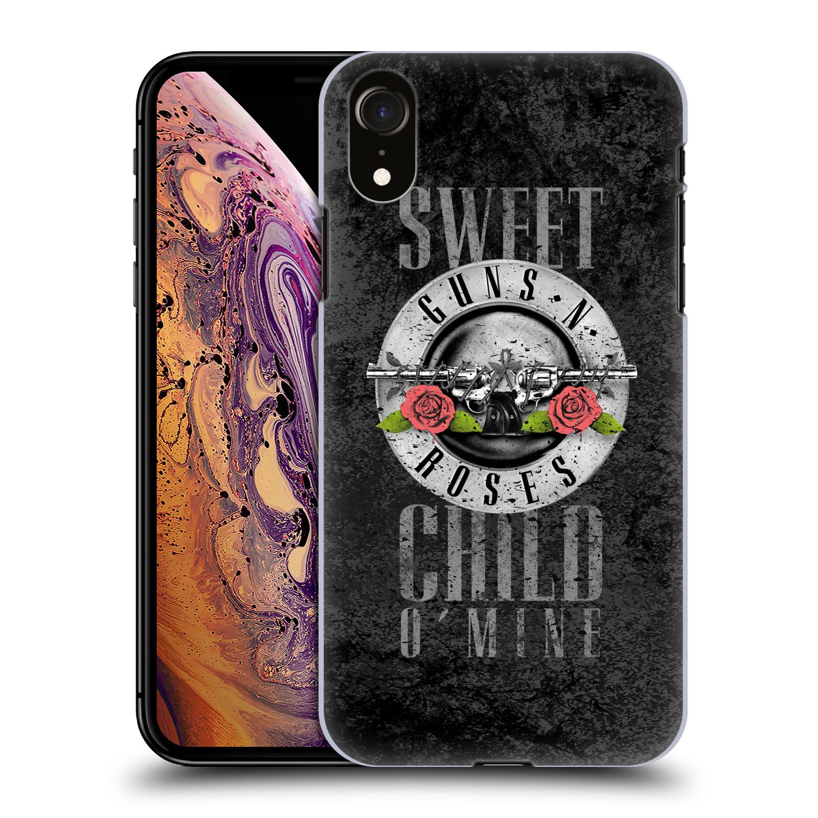 Plastové pouzdro na mobil Apple iPhone XR - Head Case - Guns N' Roses - Sweet Child