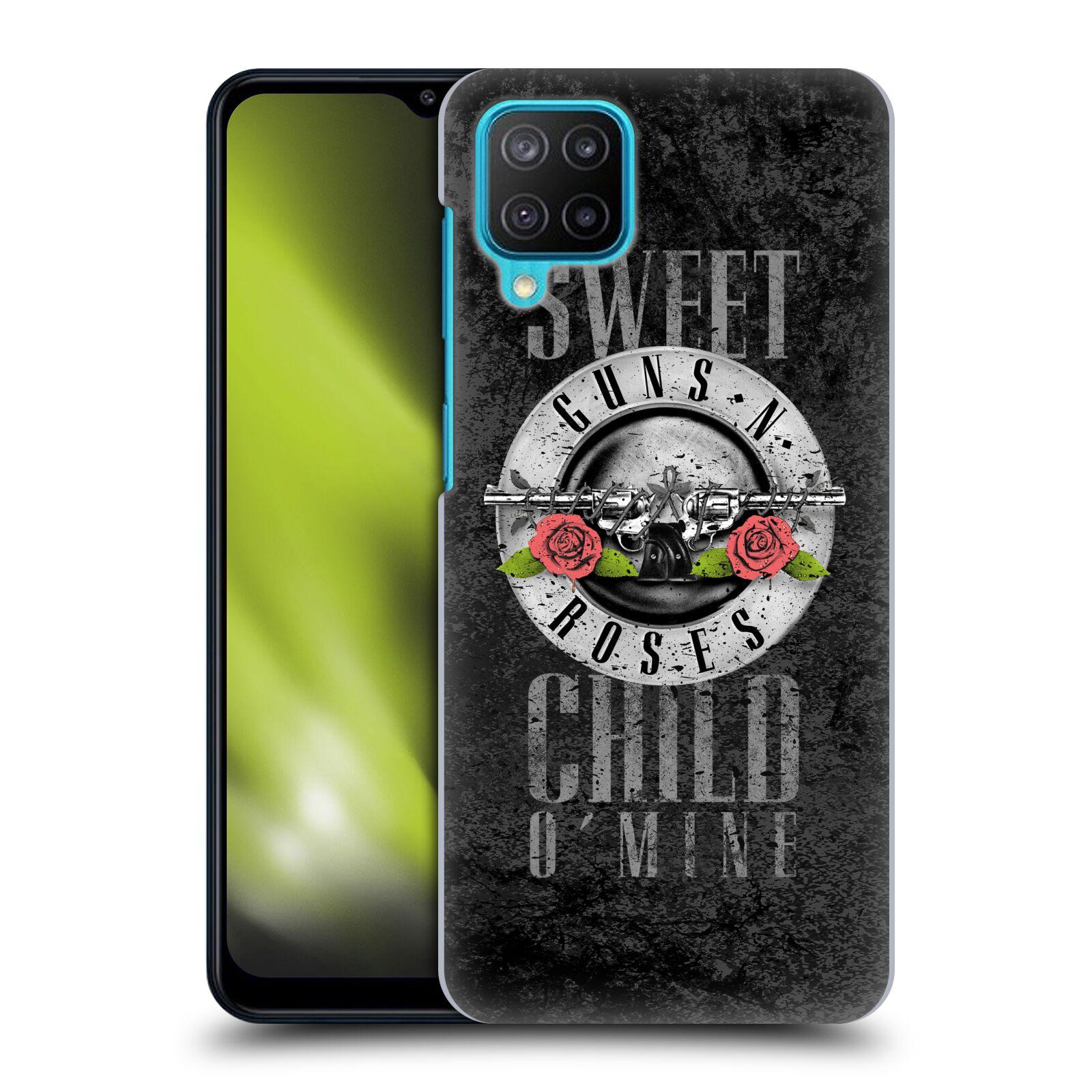 Plastové pouzdro na mobil Samsung Galaxy M12 - Head Case - Guns N' Roses - Sweet Child