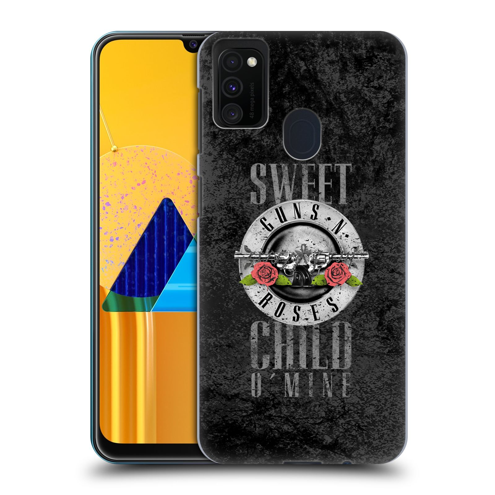 Plastové pouzdro na mobil Samsung Galaxy M21 - Head Case - Guns N' Roses - Sweet Child