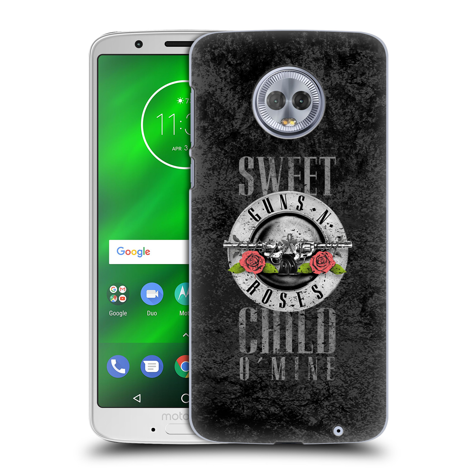 Plastové pouzdro na mobil Motorola Moto G6 Plus - Head Case - Guns N' Roses - Sweet Child