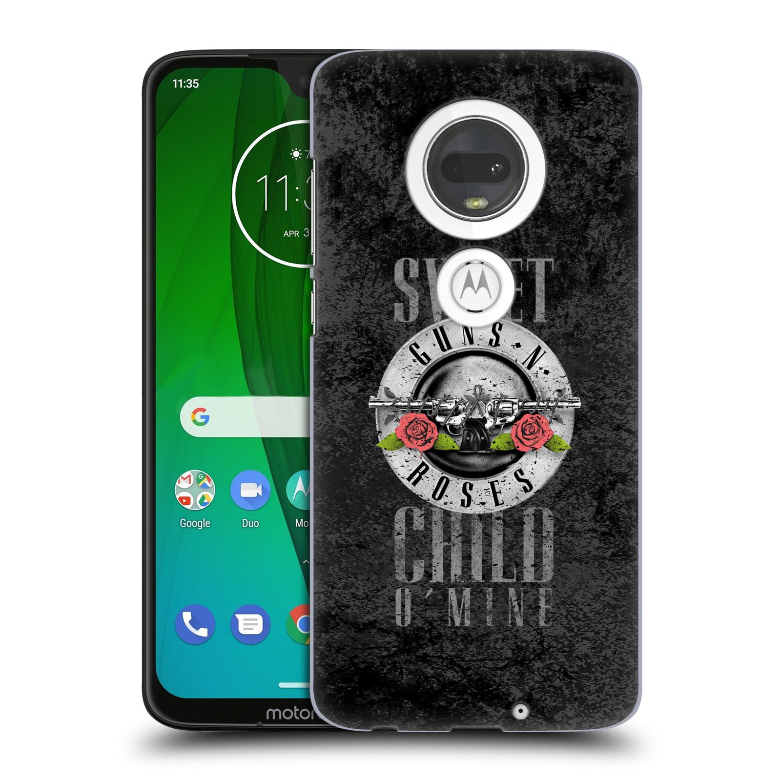 Plastové pouzdro na mobil Motorola Moto G7 - Head Case - Guns N' Roses - Sweet Child