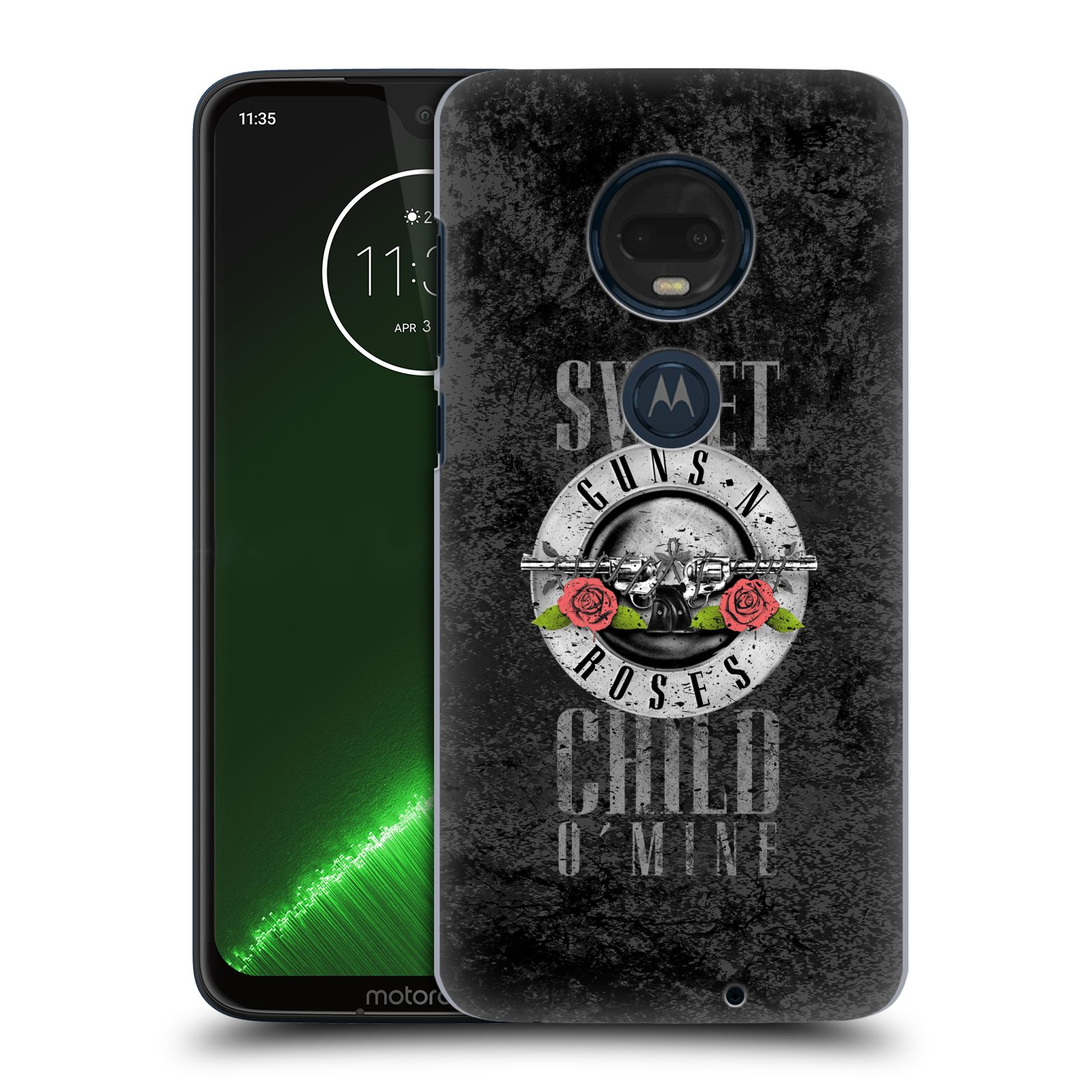 Plastové pouzdro na mobil Motorola Moto G7 Plus - Head Case - Guns N' Roses - Sweet Child