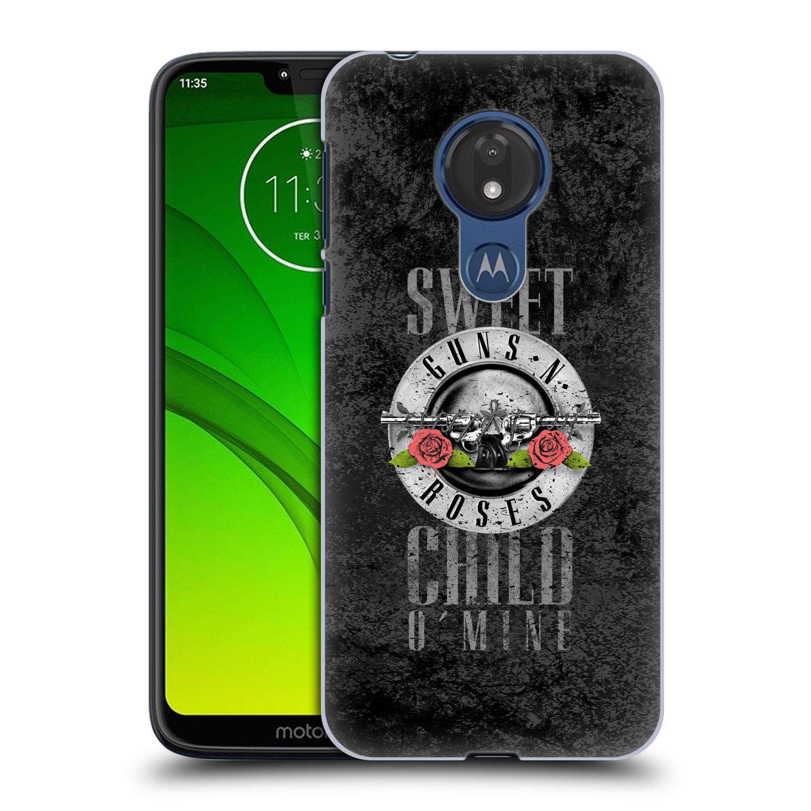 Plastové pouzdro na mobil Motorola Moto G7 Power - Head Case - Guns N' Roses - Sweet Child