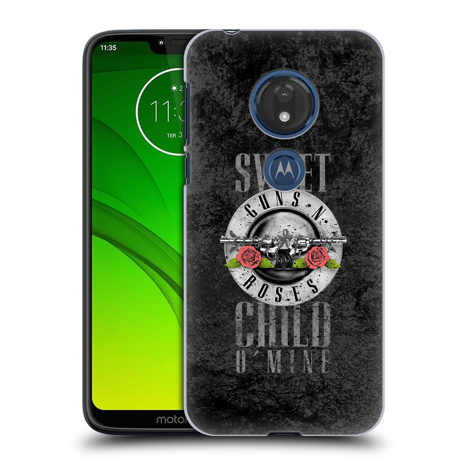 Plastové pouzdro na mobil Motorola Moto G7 Play - Head Case - Guns N' Roses - Sweet Child