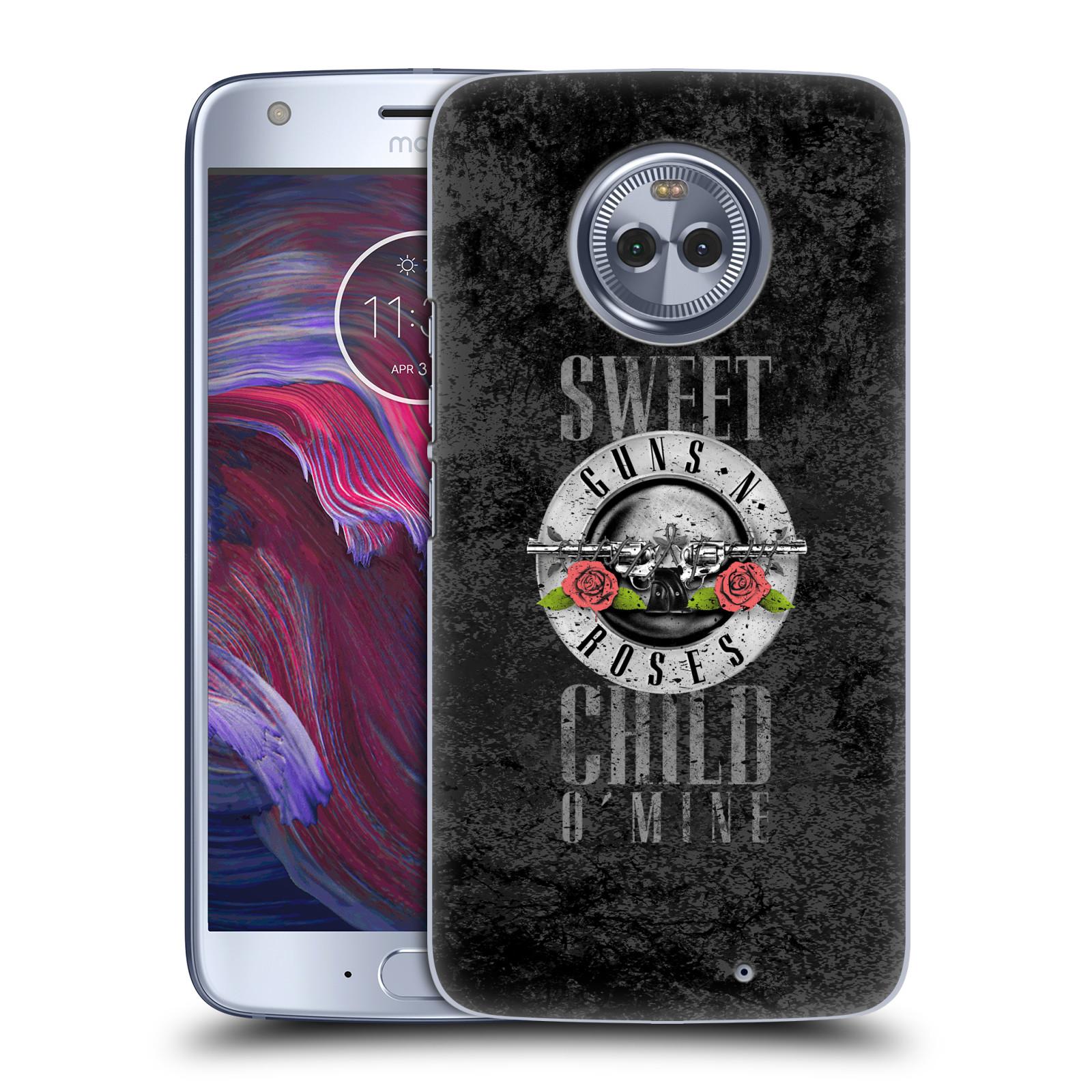Plastové pouzdro na mobil Lenovo Moto X4 - Head Case - Guns N' Roses - Sweet Child