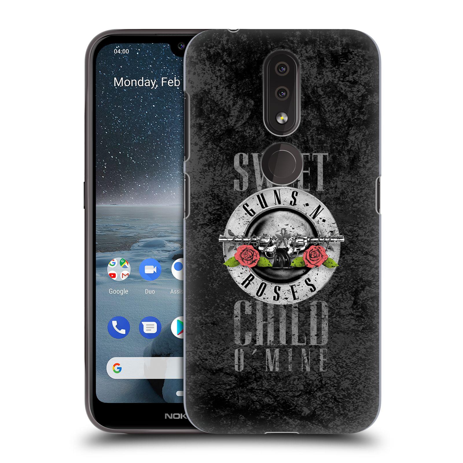 Plastové pouzdro na mobil Nokia 4.2 - Head Case - Guns N' Roses - Sweet Child