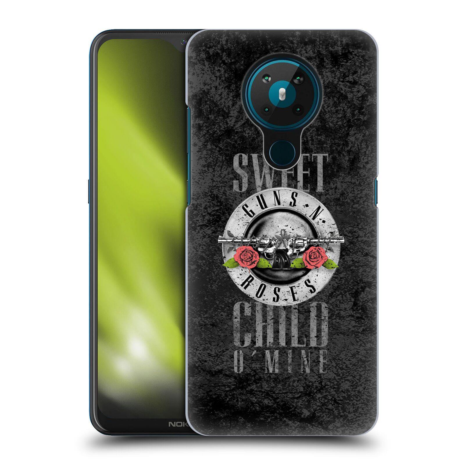 Plastové pouzdro na mobil Nokia 5.3 - Head Case - Guns N' Roses - Sweet Child
