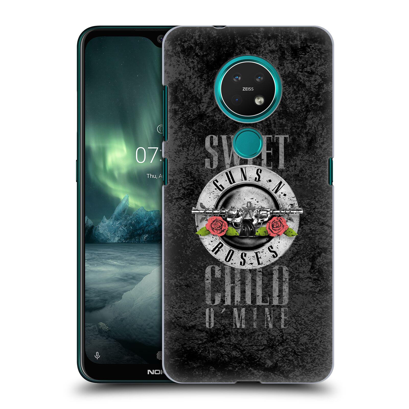 Plastové pouzdro na mobil Nokia 7.2 - Head Case - Guns N' Roses - Sweet Child