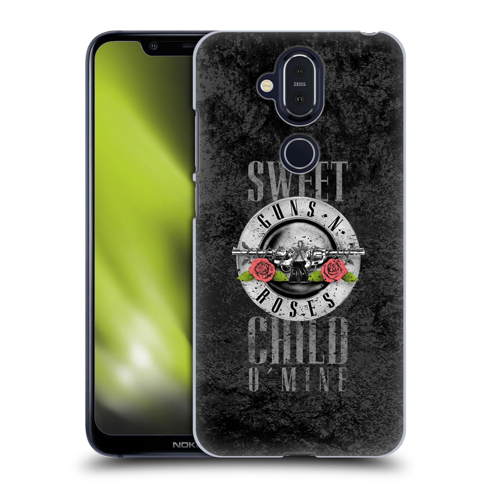 Plastové pouzdro na mobil Nokia 8.1 - Head Case - Guns N' Roses - Sweet Child