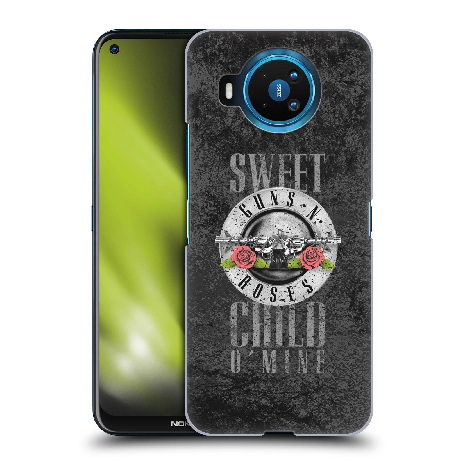 Plastové pouzdro na mobil Nokia 8.3 5G - Head Case - Guns N' Roses - Sweet Child