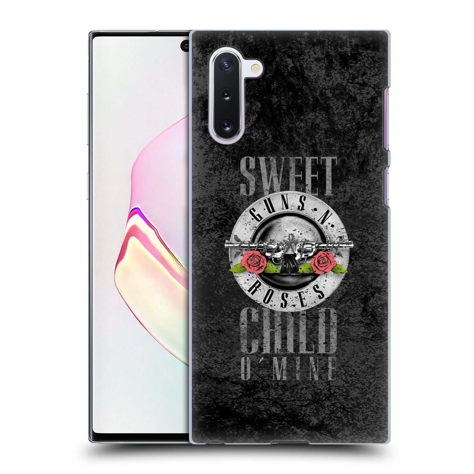 Plastové pouzdro na mobil Samsung Galaxy Note 10 - Head Case - Guns N' Roses - Sweet Child