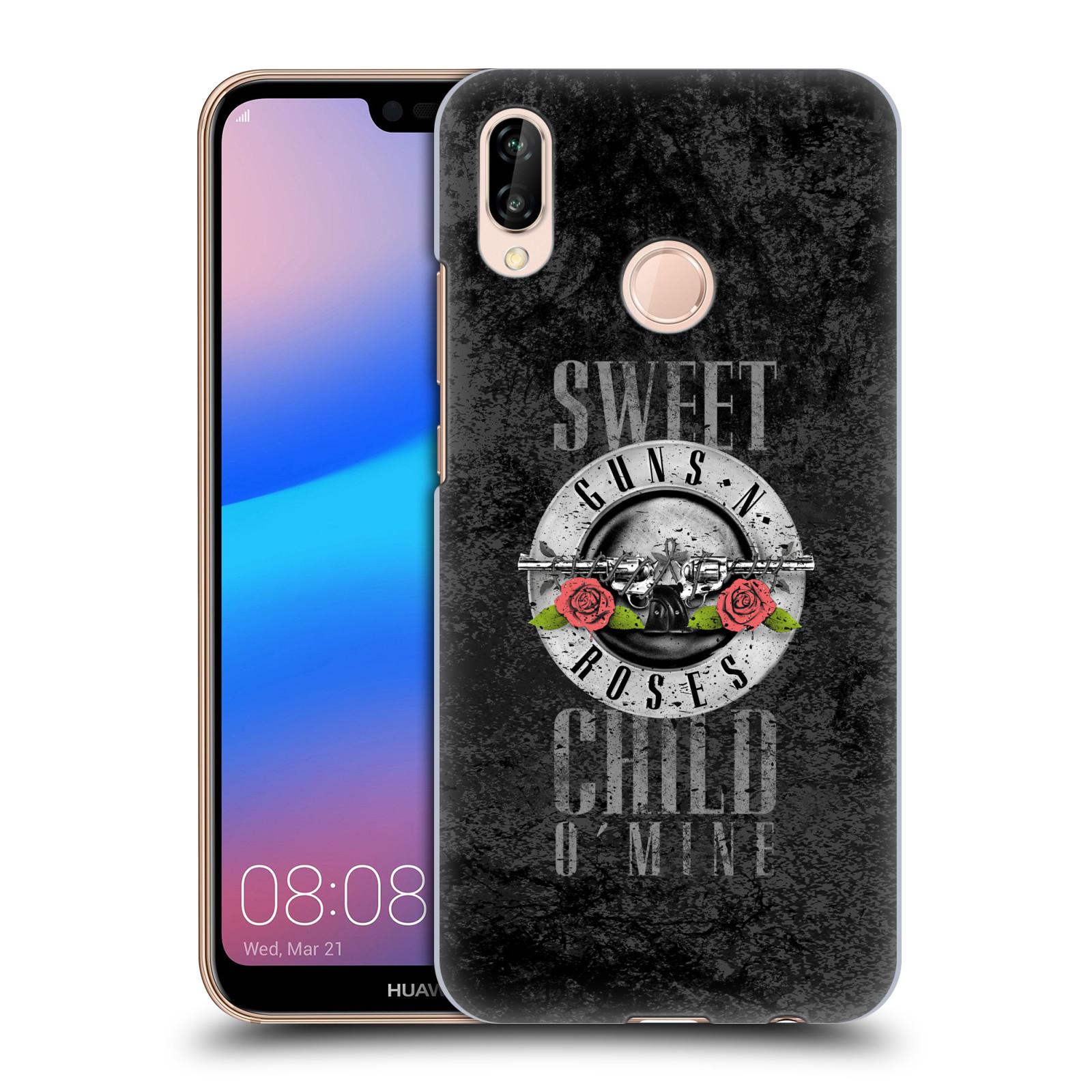 Plastové pouzdro na mobil Huawei P20 Lite - Head Case - Guns N' Roses - Sweet Child