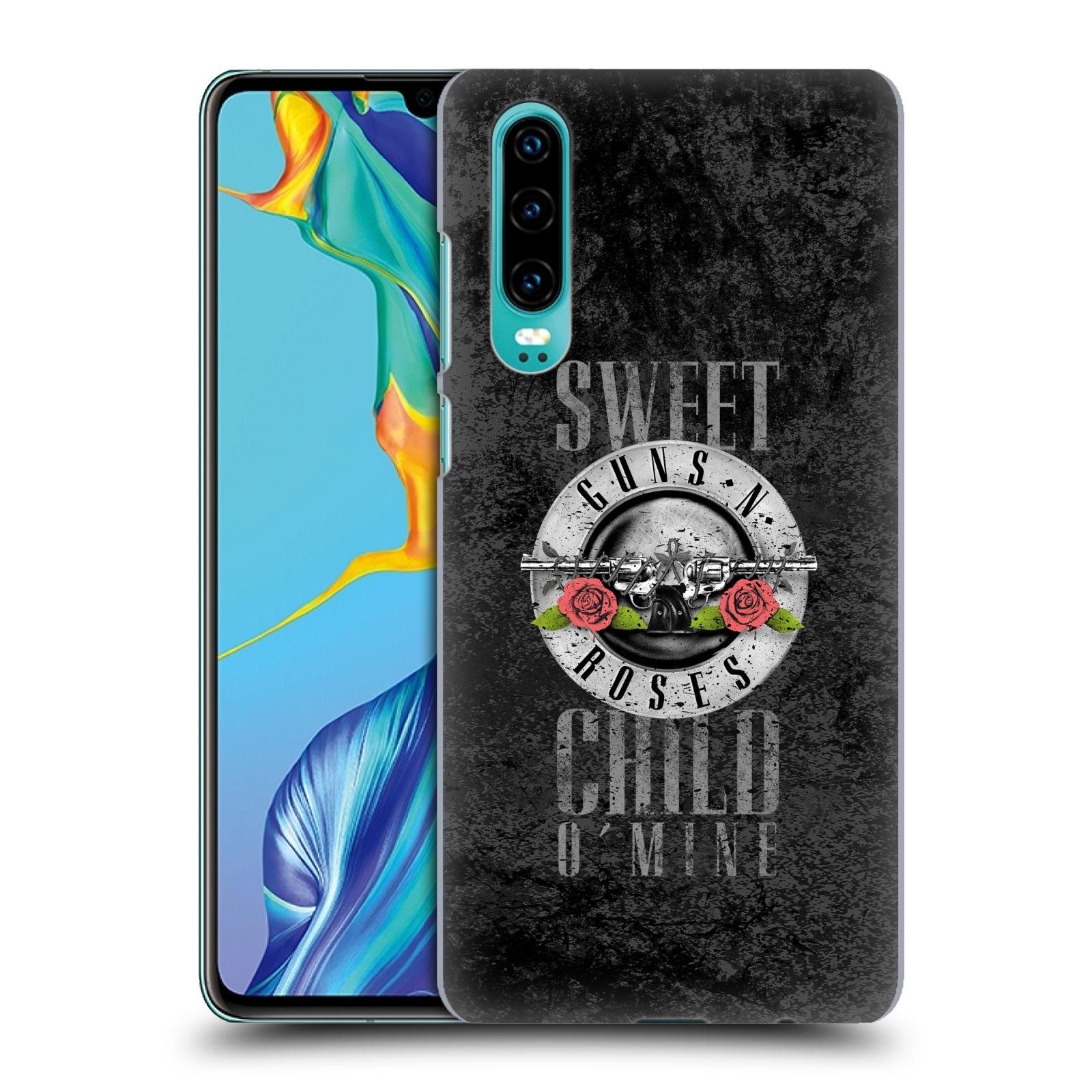 Plastové pouzdro na mobil Huawei P30 - Head Case - Guns N' Roses - Sweet Child