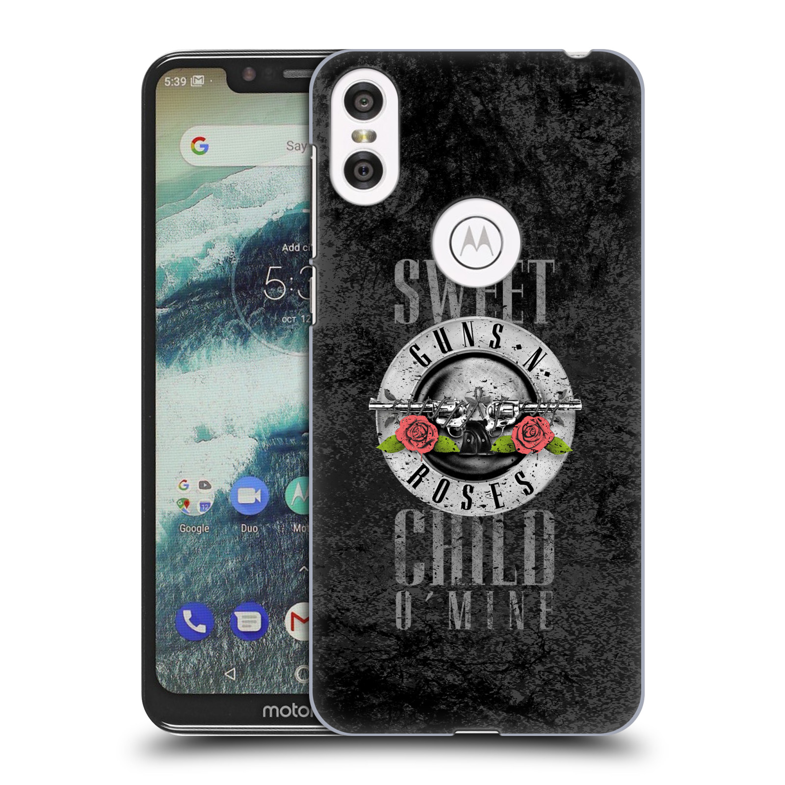 Plastové pouzdro na mobil Motorola One - Head Case - Guns N' Roses - Sweet Child