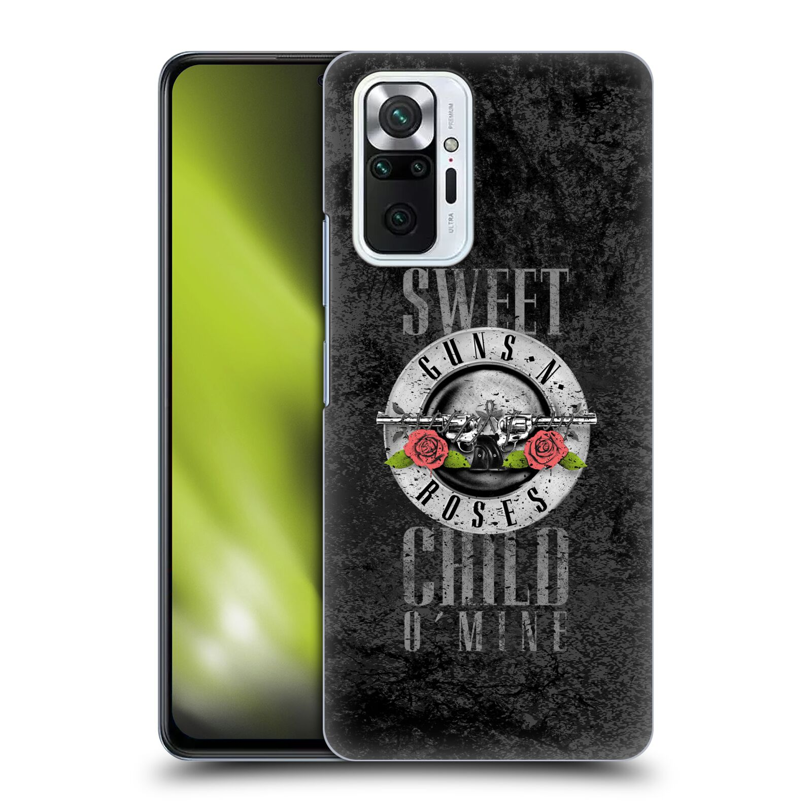 Plastové pouzdro na mobil Xiaomi Redmi Note 10 Pro - Head Case - Guns N' Roses - Sweet Child
