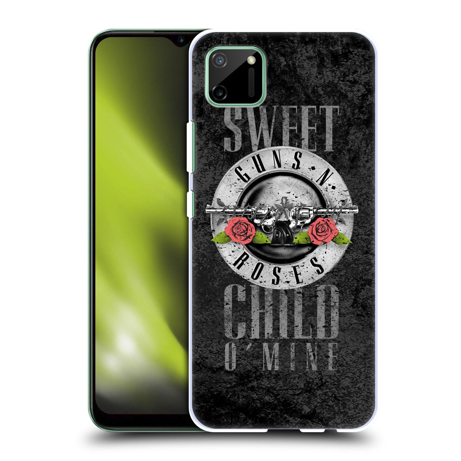Plastové pouzdro na mobil Realme C11 - Head Case - Guns N' Roses - Sweet Child