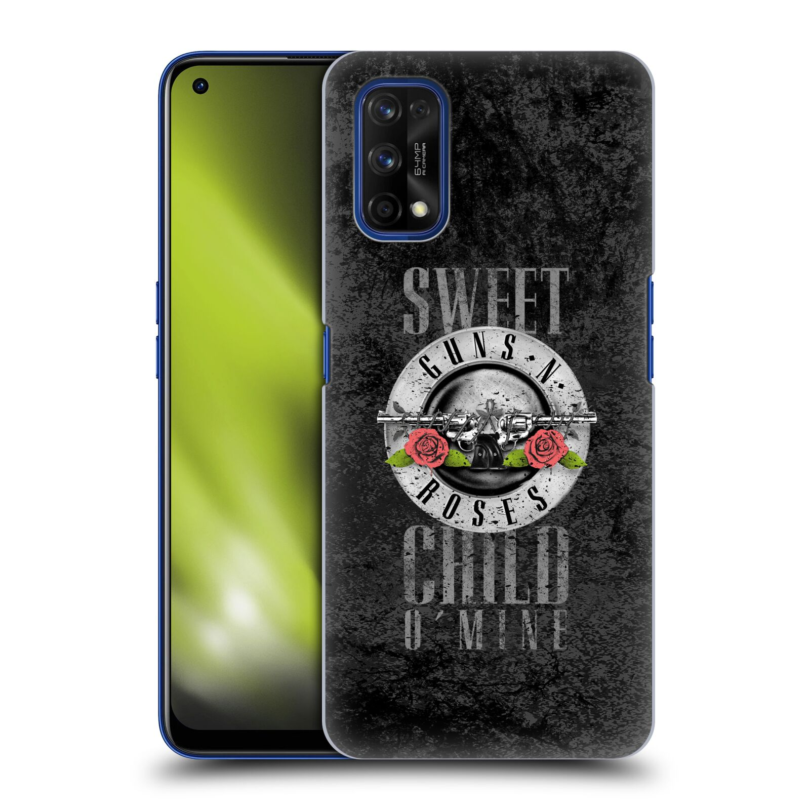 Plastové pouzdro na mobil Realme 7 Pro - Head Case - Guns N' Roses - Sweet Child