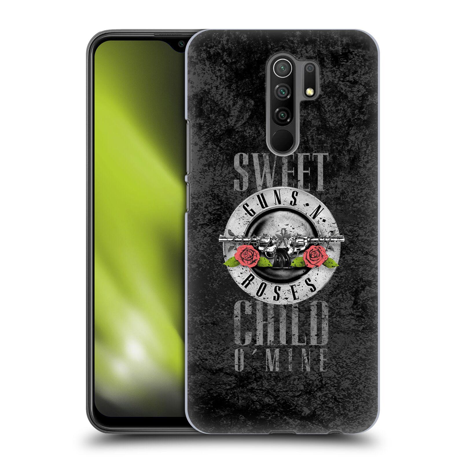 Plastové pouzdro na mobil Xiaomi Redmi 9 - Head Case - Guns N' Roses - Sweet Child