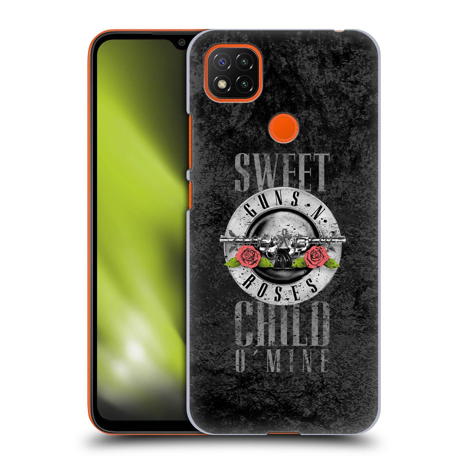 Plastové pouzdro na mobil Xiaomi Redmi 9C - Head Case - Guns N' Roses - Sweet Child