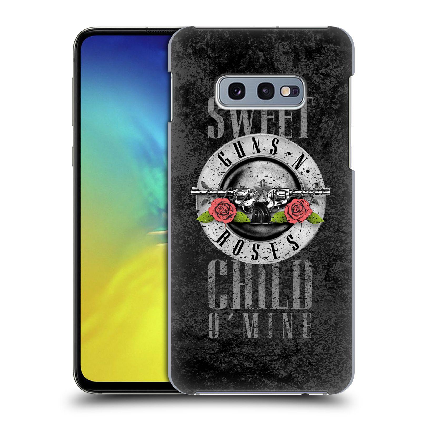 Plastové pouzdro na mobil Samsung Galaxy S10e - Head Case - Guns N' Roses - Sweet Child