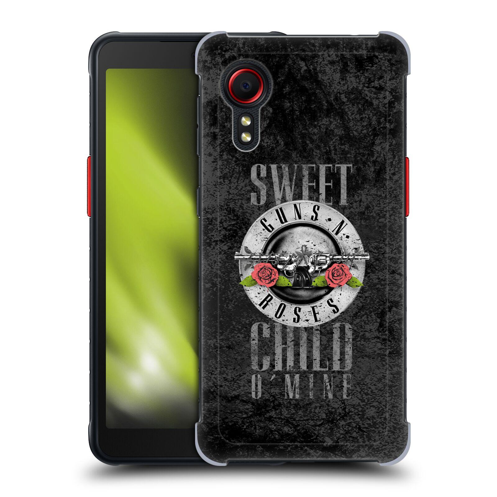 Plastové pouzdro na mobil Samsung Galaxy Xcover 5 - Head Case - Guns N' Roses - Sweet Child