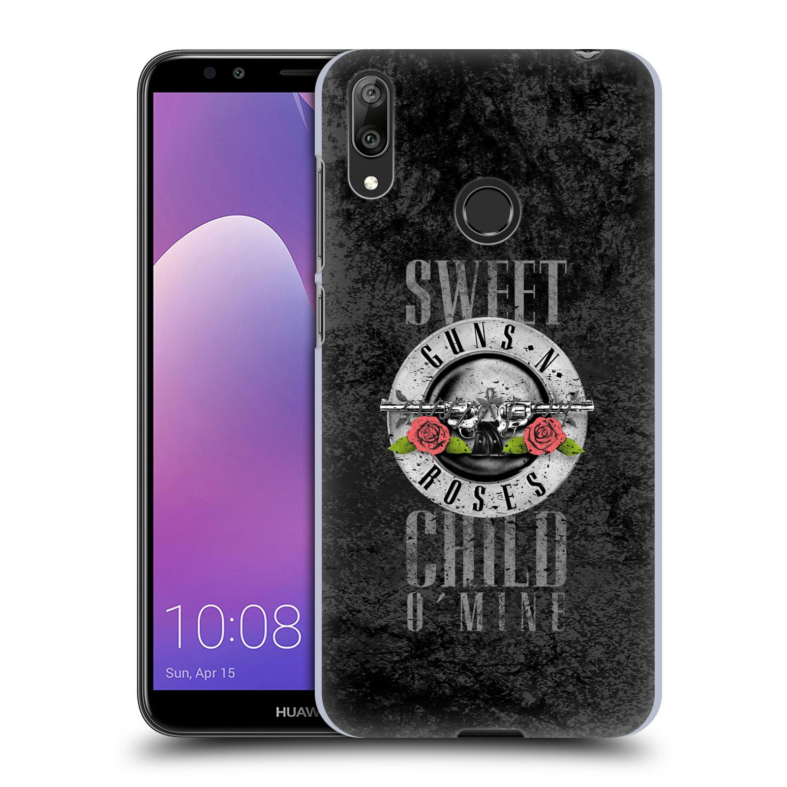 Plastové pouzdro na mobil Huawei Y7 (2019) - Head Case - Guns N' Roses - Sweet Child