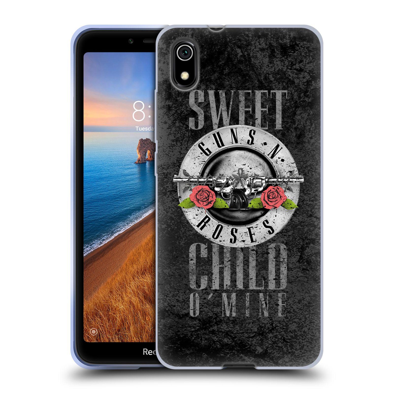 Silikonové pouzdro na mobil Redmi 7A - Head Case - Guns N' Roses - Sweet Child