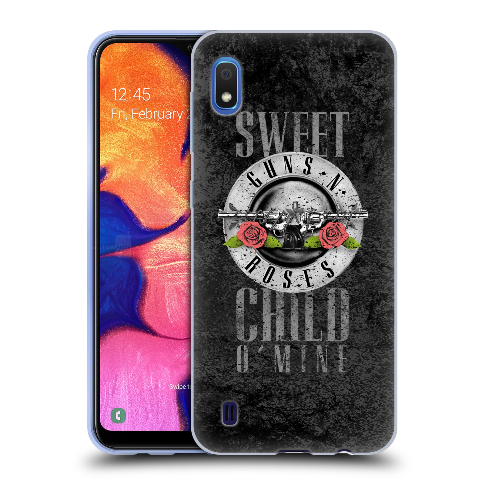 Silikonové pouzdro na mobil Samsung Galaxy A10 - Head Case - Guns N' Roses - Sweet Child