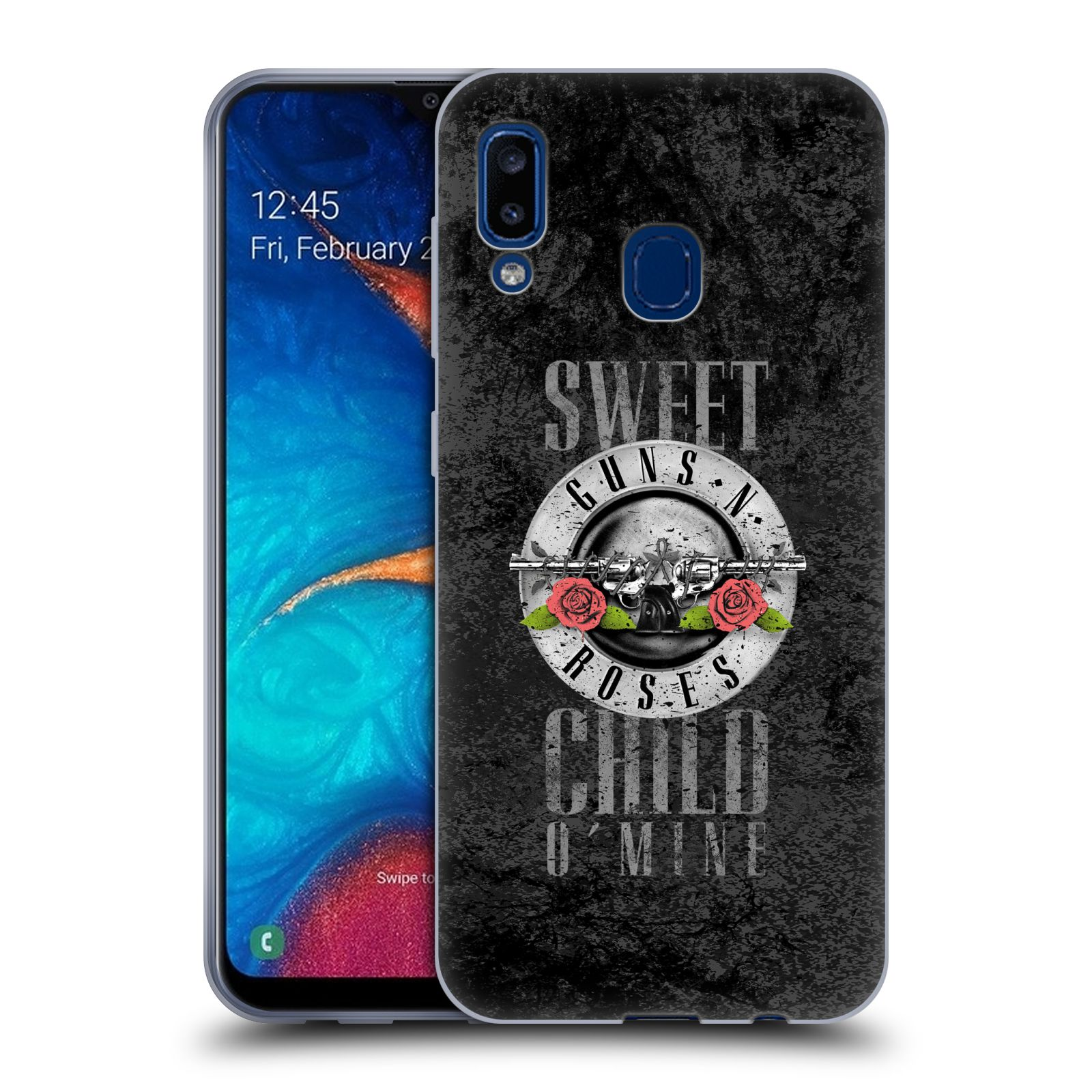Silikonové pouzdro na mobil Samsung Galaxy A20 - Head Case - Guns N' Roses - Sweet Child