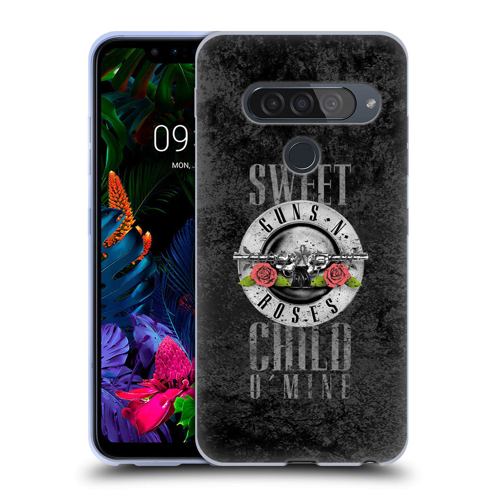 Silikonové pouzdro na mobil LG G8s ThinQ - Head Case - Guns N' Roses - Sweet Child
