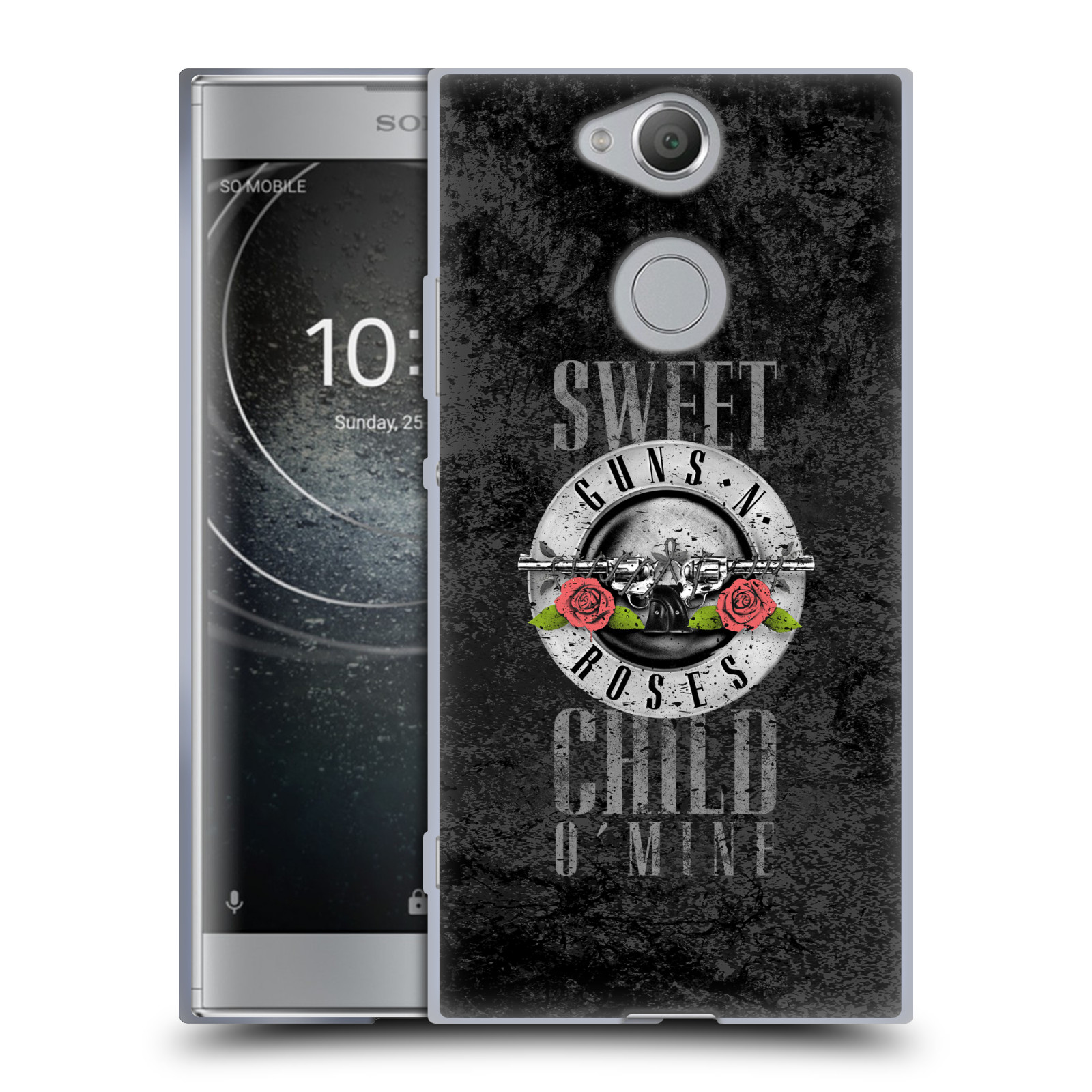 Silikonové pouzdro na mobil Sony Xperia XA2 - Head Case - Guns N' Roses - Sweet Child