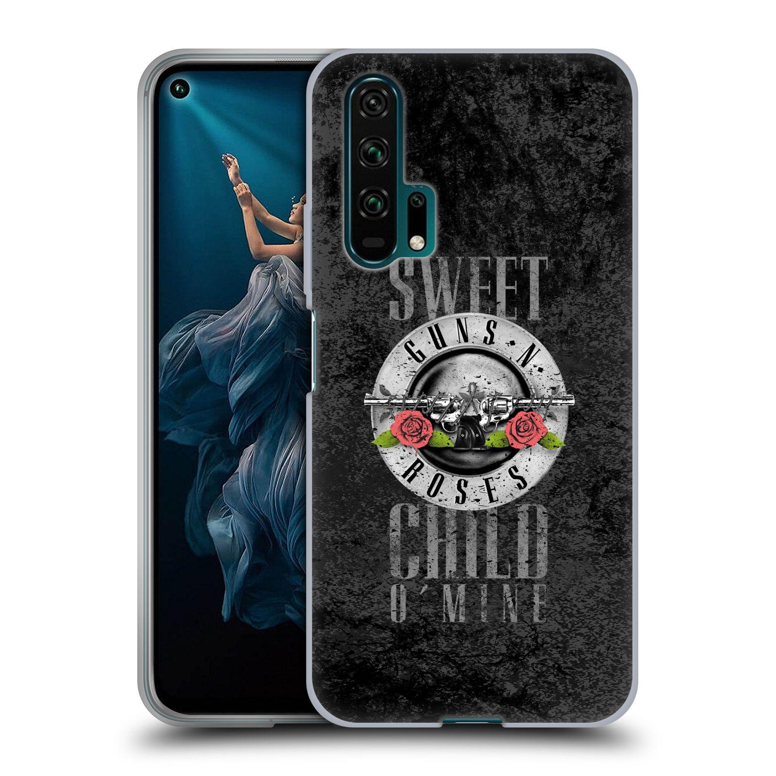 Silikonové pouzdro na mobil Honor 20 Pro - Head Case - Guns N' Roses - Sweet Child