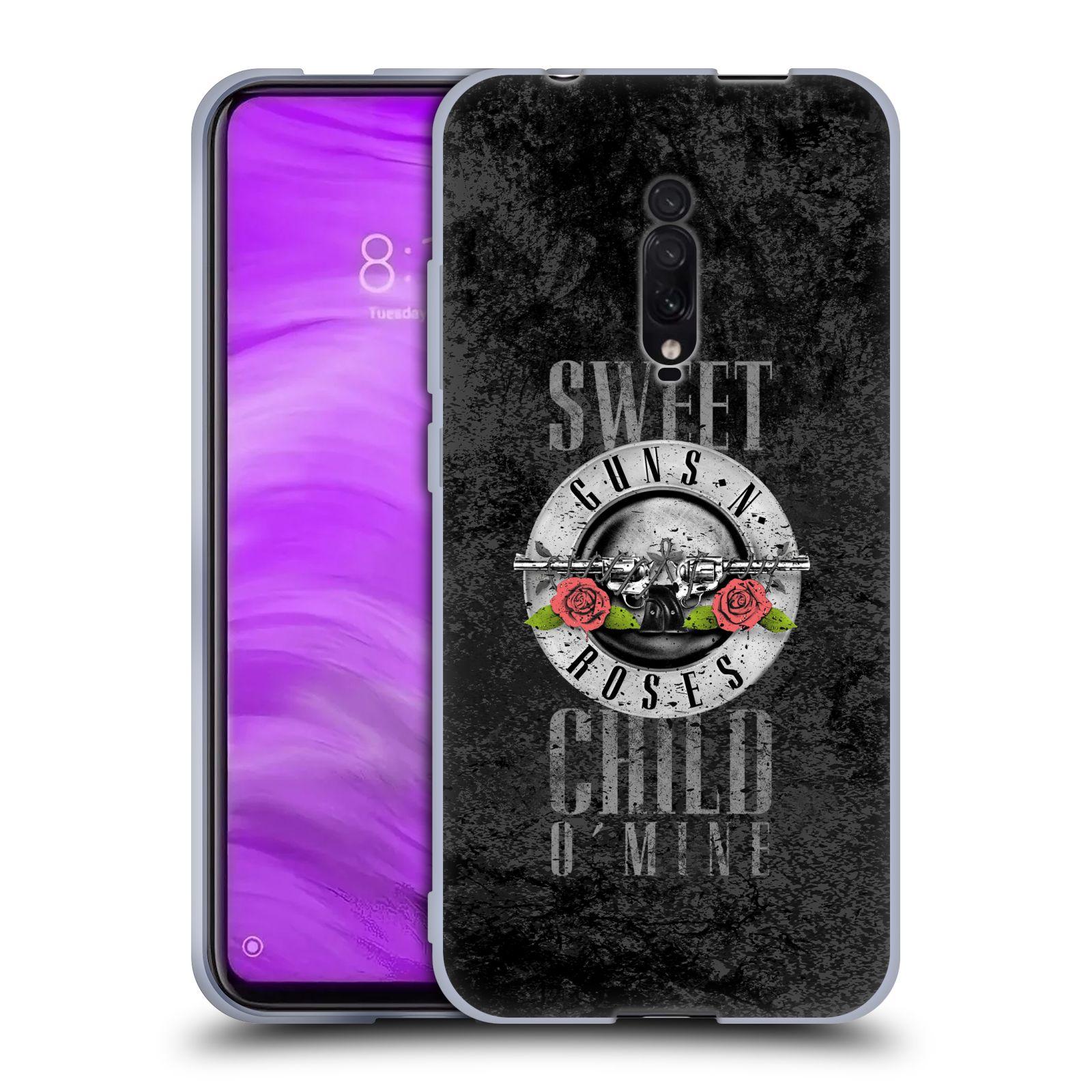 Silikonové pouzdro na mobil Xiaomi Mi 9T - Head Case - Guns N' Roses - Sweet Child