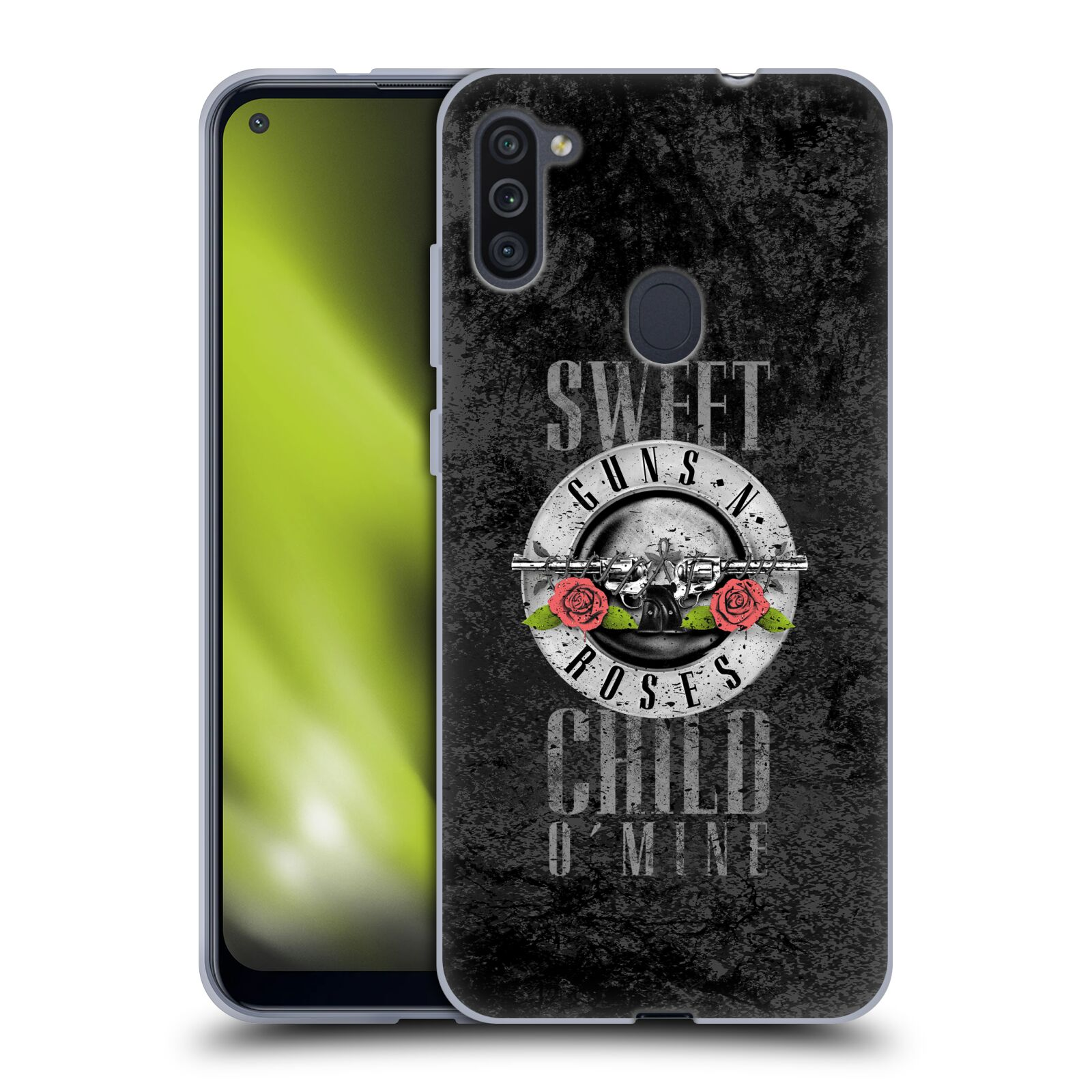 Silikonové pouzdro na mobil Samsung Galaxy M11 - Head Case - Guns N' Roses - Sweet Child
