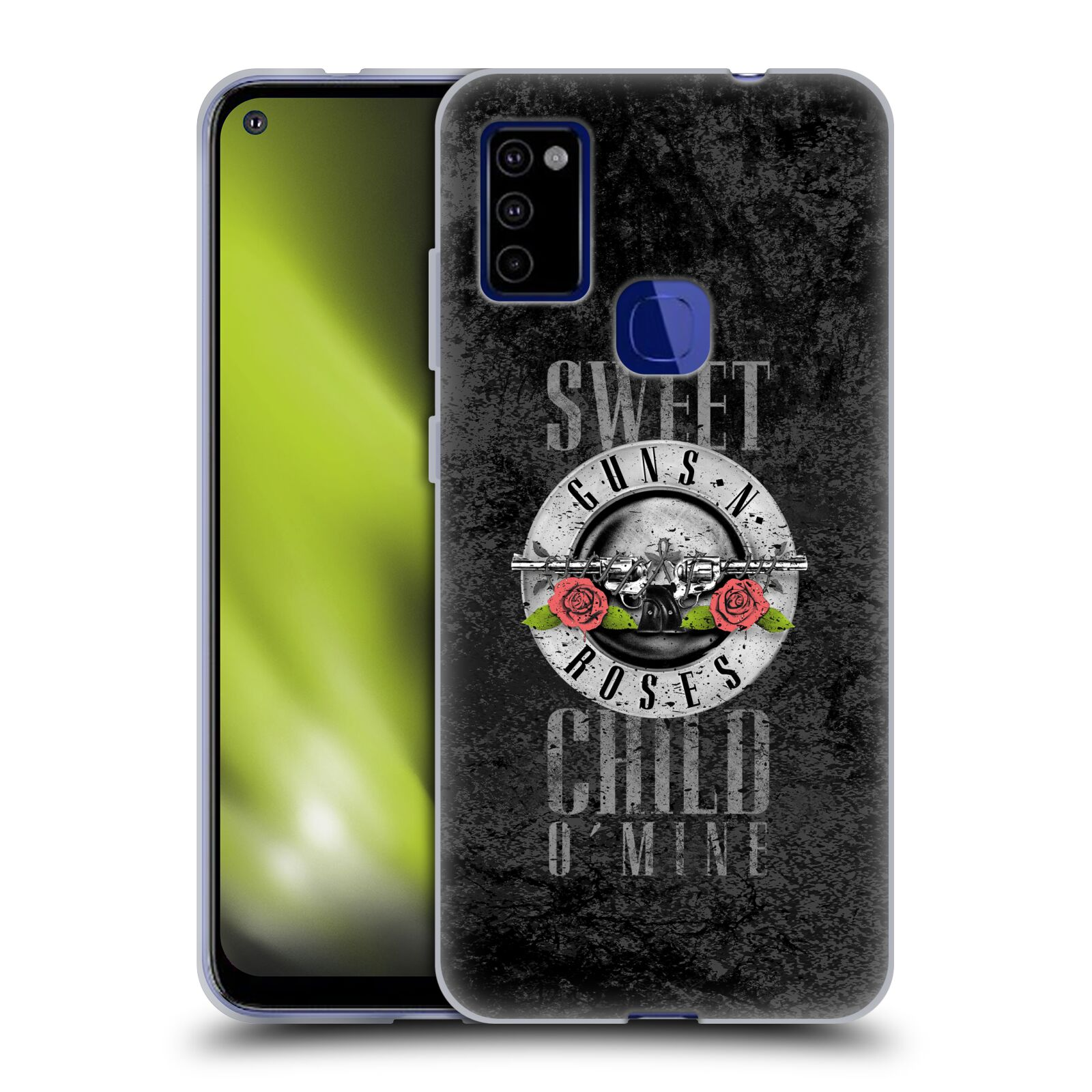 Silikonové pouzdro na mobil Samsung Galaxy M51 - Head Case - Guns N' Roses - Sweet Child