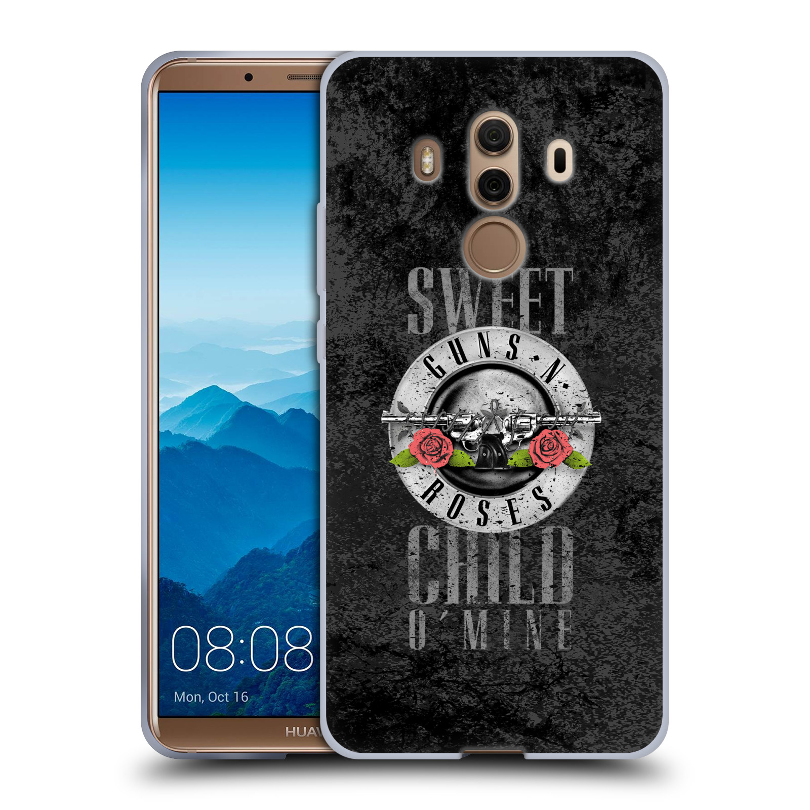 Silikonové pouzdro na mobil Huawei Mate 10 Pro - Head Case - Guns N' Roses - Sweet Child