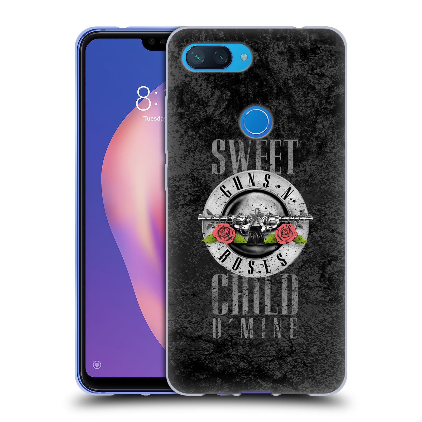 Silikonové pouzdro na mobil Xiaomi Mi 8 Lite - Head Case - Guns N' Roses - Sweet Child