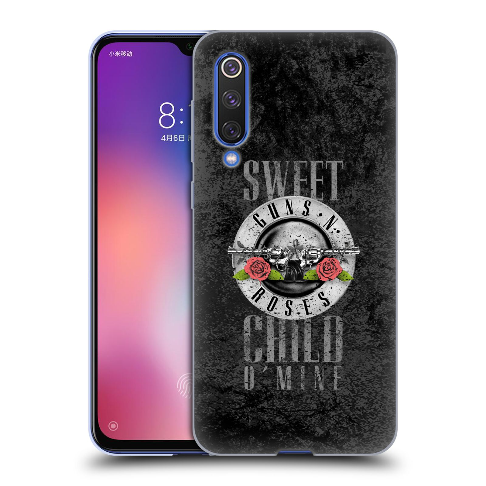 Silikonové pouzdro na mobil Xiaomi Mi 9 SE - Head Case - Guns N' Roses - Sweet Child