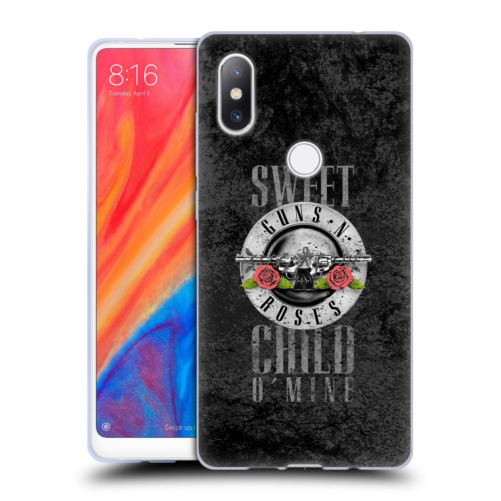 Silikonové pouzdro na mobil Xiaomi Mi Mix 2S - Head Case - Guns N' Roses - Sweet Child