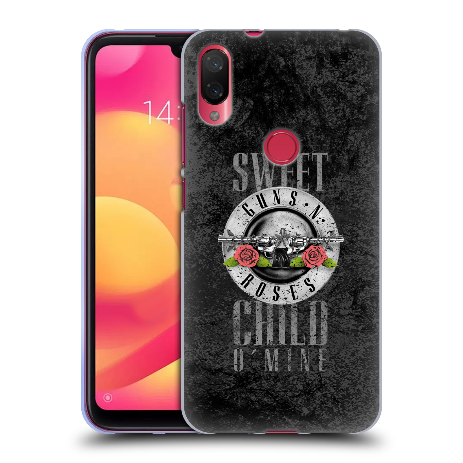 Silikonové pouzdro na mobil Xiaomi Mi Play - Head Case - Guns N' Roses - Sweet Child