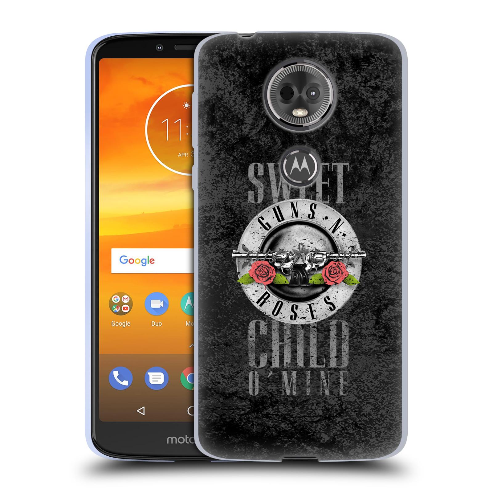 Silikonové pouzdro na mobil Motorola Moto E5 Plus - Head Case - Guns N' Roses - Sweet Child