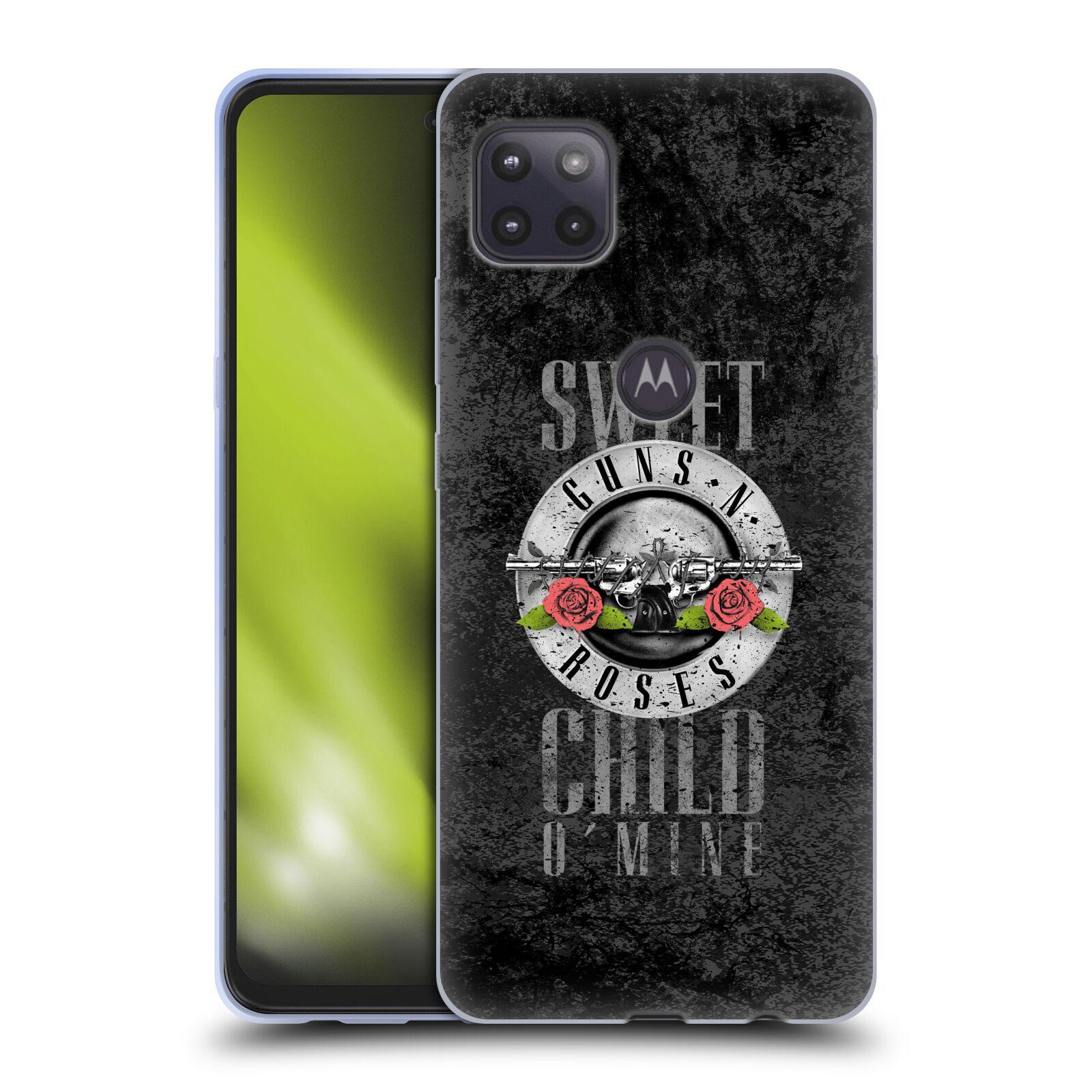 Silikonové pouzdro na mobil Motorola Moto G 5G - Head Case - Guns N' Roses - Sweet Child