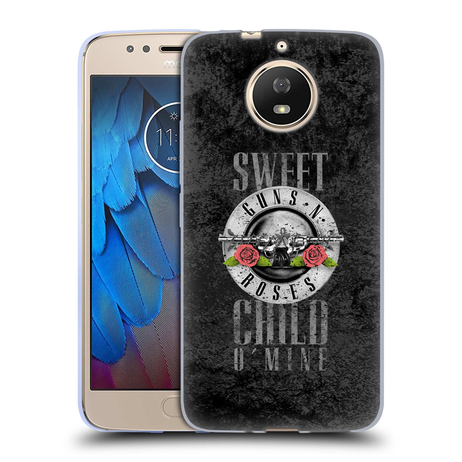Silikonové pouzdro na mobil Lenovo Moto G5s - Head Case - Guns N' Roses - Sweet Child