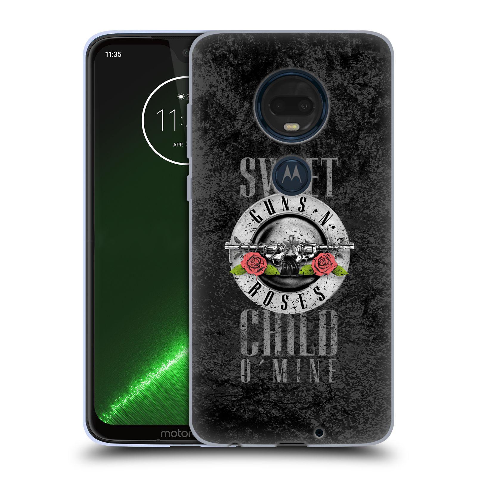 Silikonové pouzdro na mobil Motorola Moto G7 Plus - Head Case - Guns N' Roses - Sweet Child
